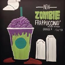 Pumpkin Frappuccino Starbucks Caffeine by What Is The Starbucks Zombie Frappuccino Popsugar Food
