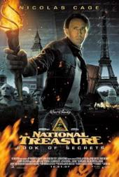 film petualangan pencarian harta karun national treasure book of secrets 2007 jadwal tv