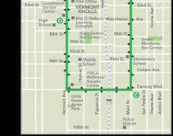 Map Vermont Dash Vermont Main Ladot Transit Services