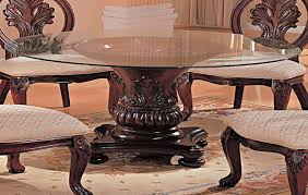 traditional round glass dining table catchy traditional round glass dining table kitchen dining round