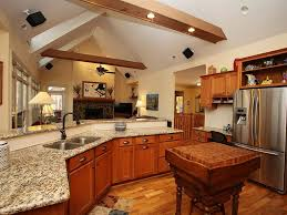 Built In Kitchen Islands Craftsman Kitchen With Built In Bookshelf U0026 Exposed Beam Zillow