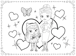 little charmers coloring pages getcoloringpages com