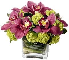 orchid bouquet pink green cymbidium orchid bouquet in las vegas nv a garden