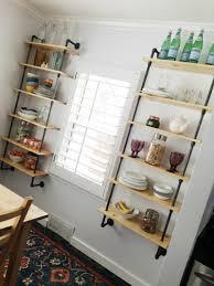 simply sadie jane u2013 dining room pipe shelving tutorial