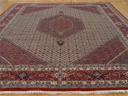 Bidjar Persian Rugs by 10 U0027 X 13 U0027 Hand Knotted Bidjar Mahi Wool And Silk 300 Kpsi Oriental