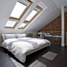 attic bedroom conversion beach style with upholstered headboards