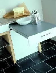 Best Decor Hidden Tables Images On Pinterest Fold Down - Kitchen pull out table