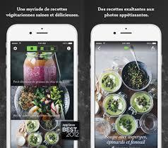 application cuisine green kitchen des recettes végétariennes et surtout gourmandes