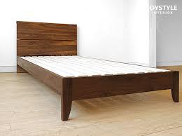 Walnut Bed Frames Walnut Bed Frame Joystyle Interior Rakuten Global Market Bed Frame