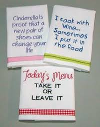 Machine Embroidery Designs For Kitchen Towels by 20 Ridiculously Awesome Tea Towels Towels Dancing And Teas