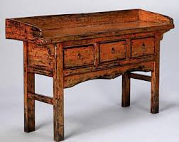Chinese Desk Asian Console Table Etsy