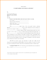 2 power of attorney form for bank account attorney letterheads