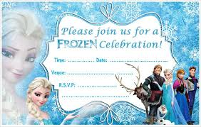 frozen party invitation template 26 frozen birthday invitation