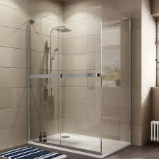 Bathroom Shower Trays by Cooke U0026 Lewis Grandeur Rectangular Lh Shower Enclosure With Single