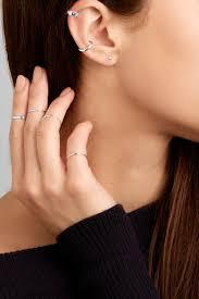 ear cuffs singapore catbird silver ear cuff net a porter