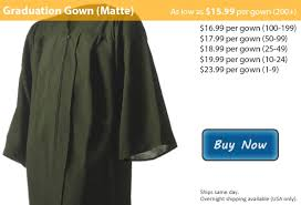 green cap and gown matte forest green graduation gowns from honors graduation