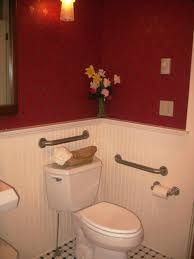 small half bathroom ideas from hgtv half tile pwinteriorscom pinterest half rustic small