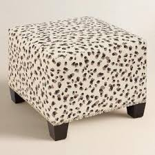 Ideas For Leopard Ottoman Design Leopard Print Upholstered Ottoman Products Bookmarks Design
