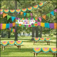 home design diy outdoor party decoration ideas colored diy paper