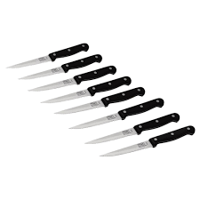 chicago cutlery 4 25 in steak knife 8 pack 1121951 the home depot