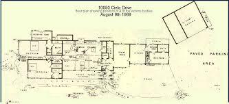 10050 cielo drive floor plan sharon tate house floor plan home design