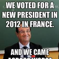 Meme French - election 2012 french president by minecarte meme center