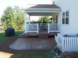 paver patio off screened porch via http www canalelandscaping