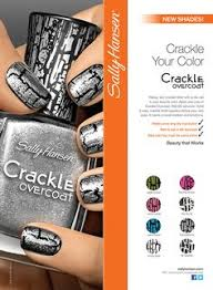 blue and silver crackle nails things i u0027ve made pinterest