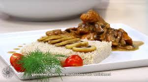 cuisine choumicha poulet choumicha couscous au poulet et chignons couscous with