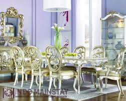 dining room exquisite european dining room decoration using gold