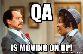 Movin On Up Meme - qa is moving on up movin on up meme generator
