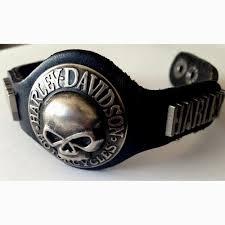 skull bracelet leather images Other motorcycle parts harley davidson skull bracelet metal JPG