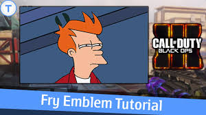 Futurama Fry Meme - black ops 3 emblem tutorial futurama fry not sure if meme youtube