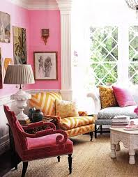 Pink Living Room Chair 10 Inspired Pink Living Room Designs Home Design And Interior