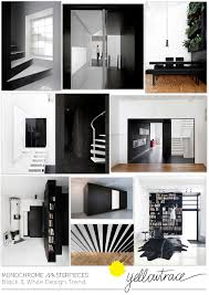 Black And White Interiors by Monochrome Masterpieces Black And White Interiors
