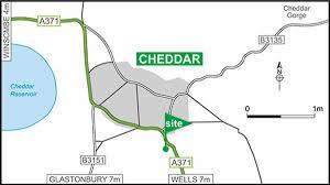 Somerset England Map Cheddar Club Site The Caravan Club