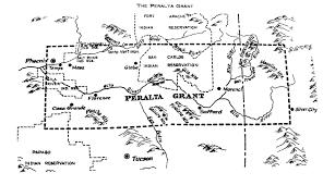 Map Grant Phony Baron Swindled Early Arizona Residents Arizona Sonora News