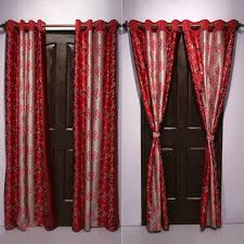 door curtains pack of 4 with free 5 cushion covers by cortina