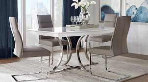 Dining Room Tables White Dining Room Sets Suites U0026 Furniture Collections