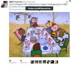 tv racism television tweet thanksgiving