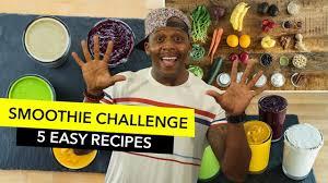 Challenge Reto 5 Day Smoothie Challenge Reto 5 Días De Batidos My New Diet