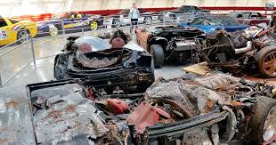 corvette museum collapse corvettes damaged in museum sinkhole attract numbers fox sports