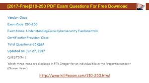 2017 free pdf exam questions for free download vendor cisco exam
