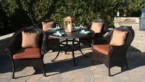 Wicker Patio Table Set Wonderful Outdoor Wicker Patio Furniture All Home Decorations