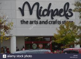 michaels arts and craft store in bowie md stock photo royalty