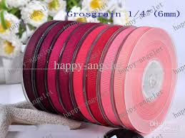 grosgrain ribbons new 1 4 grosgrain ribbon printed ribbon for gift packaging diy