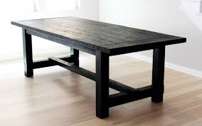 rustic wood dining room tables the most awesome dining table ever imperfection design milk