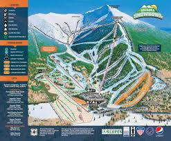 Snow Map Usa by Arizona Snow Bowl Piste Maps