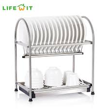 Kitchen Dish Rack Ideas Furniture Home Free Standing Commercial Stainless Steel Kitchen
