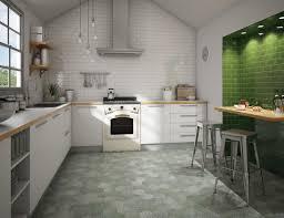 carrelage cuisine mur carrelages mosaïques et galets cuisine mural antic gris medio 7 5